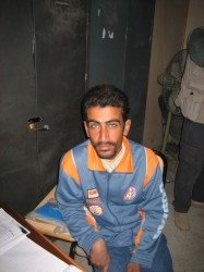 Mohammed, one of the young unemployed Baswaris we met - click for bigger picture