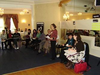 Jenny Amery, Head of Profession, Health, opening the Brighton retreat