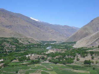 The beautiful Panjshir valley shows both Afghanistan's stunning landscape and its blighted past: the valley is littered with the rusting hulls of Russian tanks and helicopters