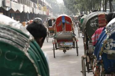 The rickshaws of Dhaka