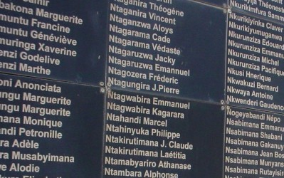 Kigali Genocide Memorial Centre: The Wall of Names