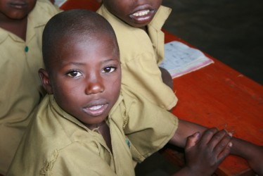 A primary school child at Byumba