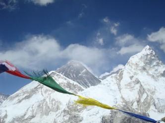 The tourist side of mountainous Nepal