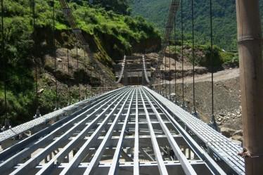 Dobilla Bridge - large scale Meccanno model?