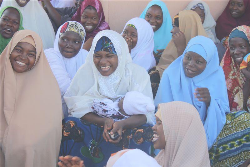 Trainee Teachers meeting, Azare College hostel, Bauchi
