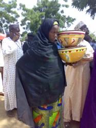 Bilkisu, fura (milk porridge) seller