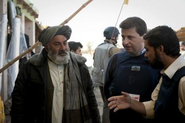 Habibullah talks with Douglas Alexander