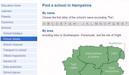 School information at the click of a mouse