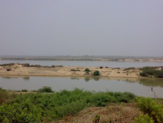 Confluence of Niger and Benue Rivers