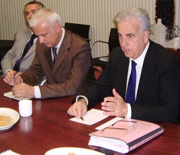 Photo of Michel Kazatchkine and Alberto Pasini
