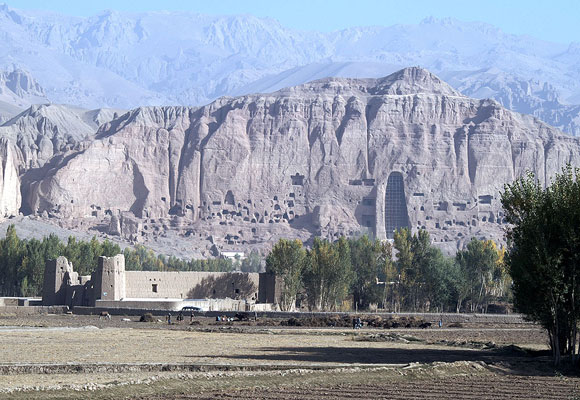 Photo of Bamiyan landscape