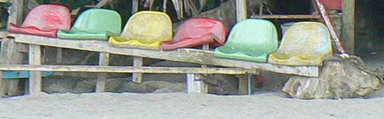 Photo of beach seats