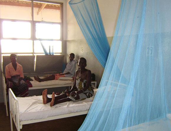 Photo of women on a hospital ward
