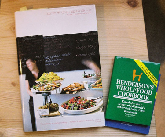 Photo of cook books