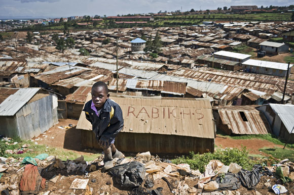 Photo: Kibera, the biggest slum in Africa