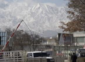 View of Hundu-Kush Mountains from British Embassy