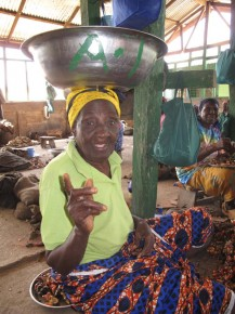 Gladys asks me if I'd like to marry her and stay in Asuom. Picture: Henry Donati/DFID