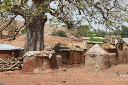 A typical village where a School for Life programme takes place. (Picture:Nicole Goldstein)