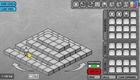 Screengrab of LightBot