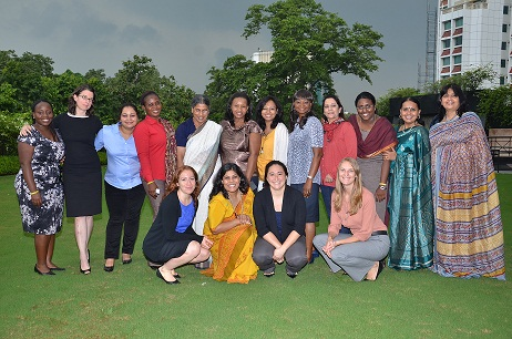 VVLead Fellowship Program's Inaugural Peer-to-Peer Exchange in New Delhi, India. Picture: Vital Voices