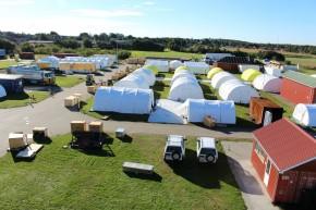Triplex Base Camp. Picture: Henry Donati/DFID