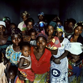 Survivors of sexual violence at a Caritas drop-in centre in the Democratic Republic of Congo. Picture: Robin Hammond / Panos.
