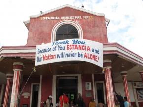 Estancia municipal hall. Picture: Henry Donati/DFID.