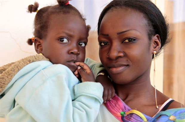23- year-old Adjura, who was cut when she was a child, had a reversal operation in 2009. Picture: Jessica Lea/DFID