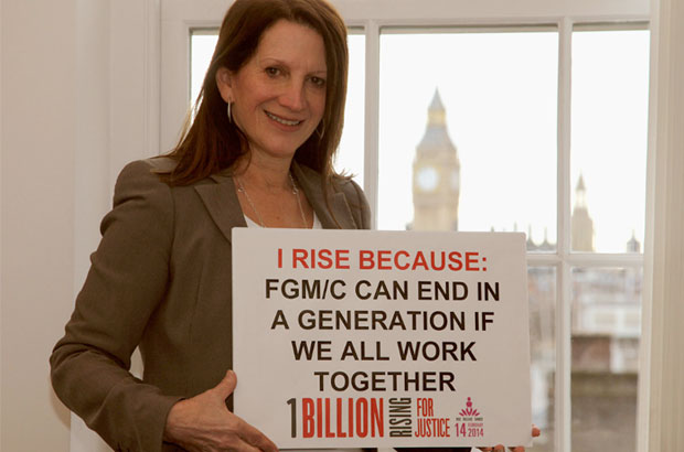 International Development Minister Lynne Featherstone believes FGM/C can end in a generation if we work together. Picture: DFID