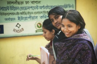 Members of a youth group in Bangladesh meet on a regular basis to discuss their sexual and reproductive health rights. Picture: International HIV/AIDS Alliance