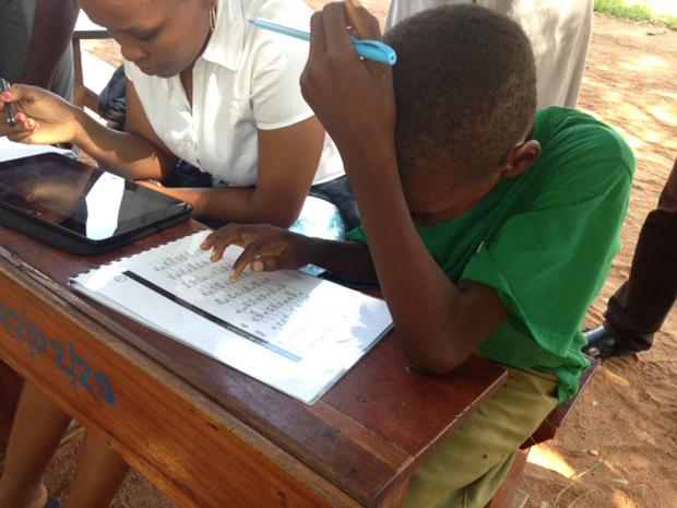 It aint easy. Picture: Ian Attfield/DFID.