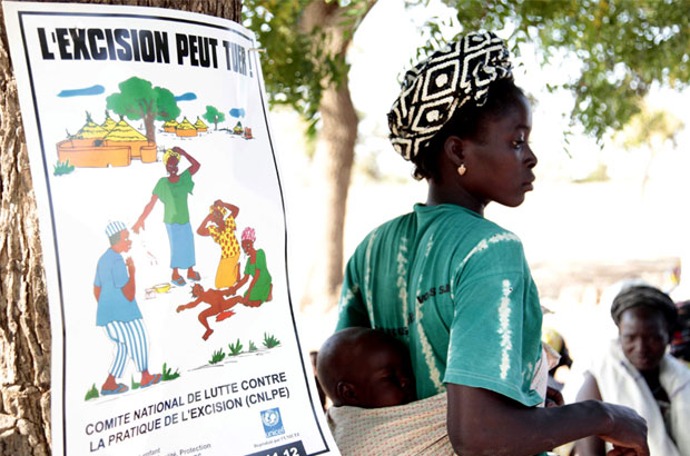 In Burkina Faso, more than 75% of girls and women have been cut. But work to reverse this trend is proving successful – community meetings, peer education and a law banning the practice have helped to reduce the numbers of girls getting cut by 31%. Picture: Jessica Lea/DFID