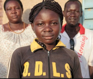 Fourteen-year-old Ami will not undergo FGM as her community in Burkina Faso has recently abandoned the practice.