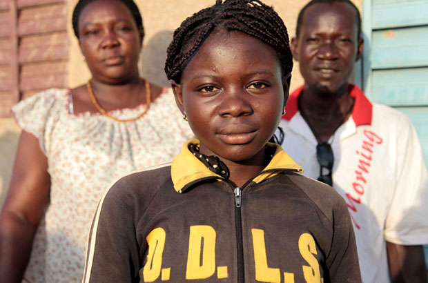 Fourteen-year-old Ami will not undergo FGM as her community in Burkina Faso has recently abandoned the practice. Picture: Jessica Lea/DFID