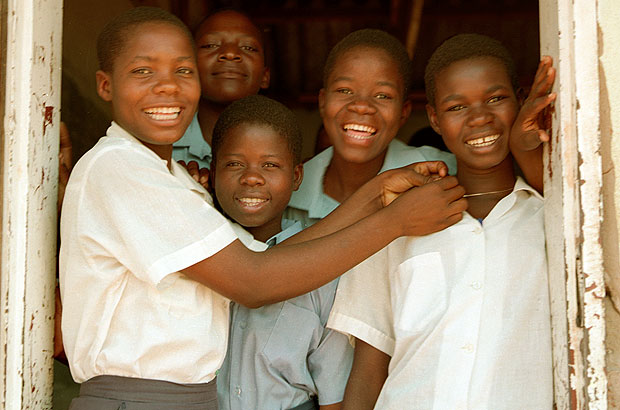 Girls in school, thanks to support from CAMFED. Picture: CAMFED