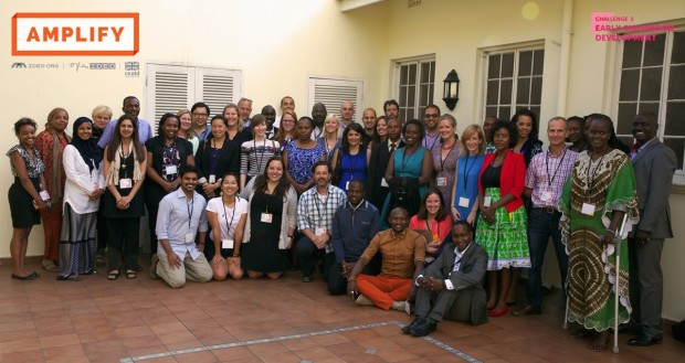 Convening session in Arusha which brought together practitioners in the field of early childhood development to identify the second Amplify challenge. Picture: DFID