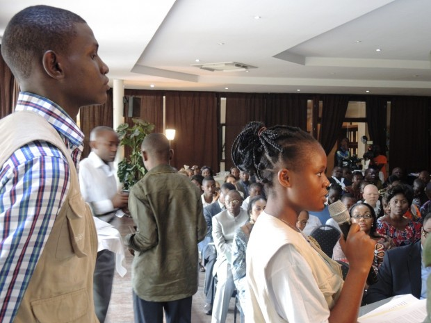 UNICEF DRC's youth reporters attended the Girl Summit in London and are reporting back