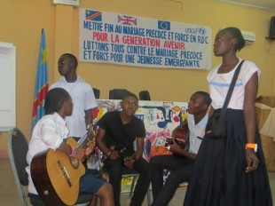 Workshops at the youth summit organised in Kinshasa by DFID DRC, UNICEF DRC and the MInistry of Gender