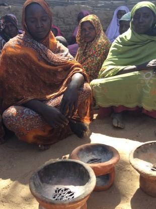 Clean cook stoves in Darfuri camp, Sudan. Picture: Lindsay Northover/DFID
