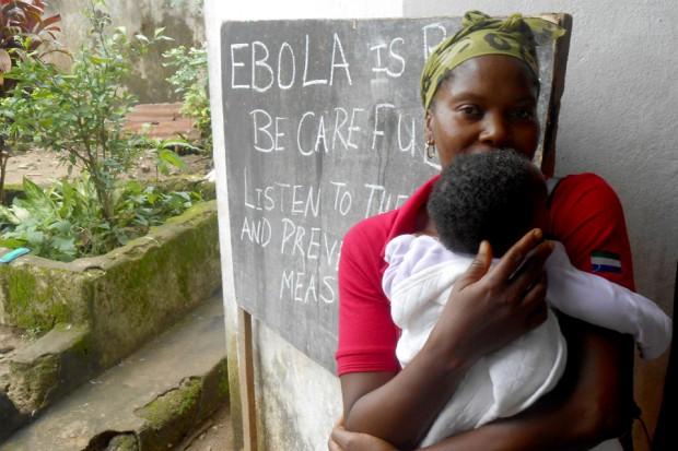 The UK is working with the UN, the World Health Organisation and the wider international community to combat Ebola. Picture: Save the Children