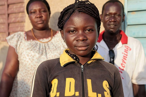 Ami, 14, knew when other girls in her village (in the west African country of Burkina Faso) were being cut – she'd hear them scream. But now her community is abandoning the practice, and – unlike her mother when she was a child – Ami will not undergo FGM. Picture: Jessica LEa/DFID