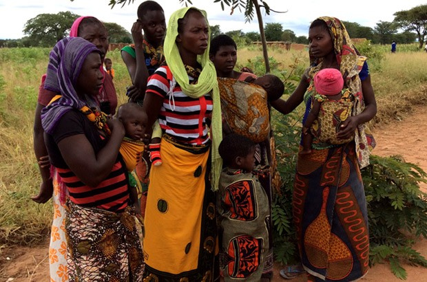 Young women carrying infants is a common sight in Tanzania. Picture: Lindsay Northover/DFID