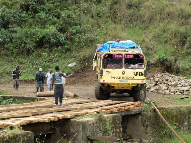 Making progress: C Pycroft, DFID DRC