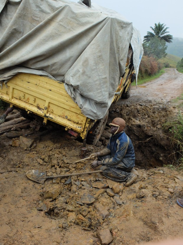 Digging Out: C Pycroft, DFID DRC