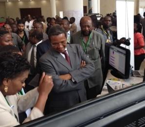 President Kikwete admires Open Data