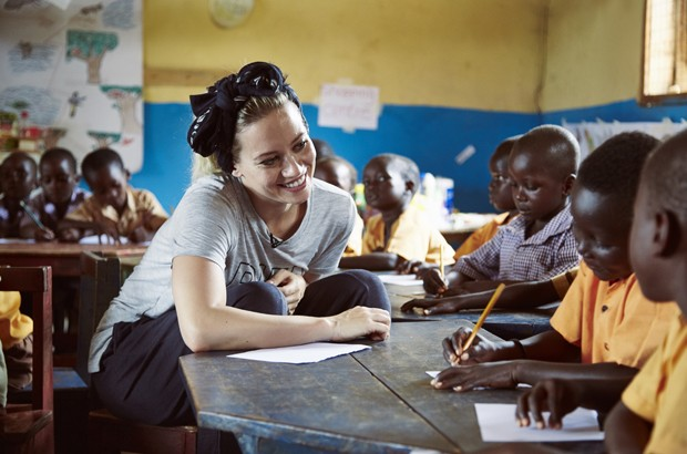 Kimberly Wyatt visits DFID funded The Sabre Trust in Ghana
